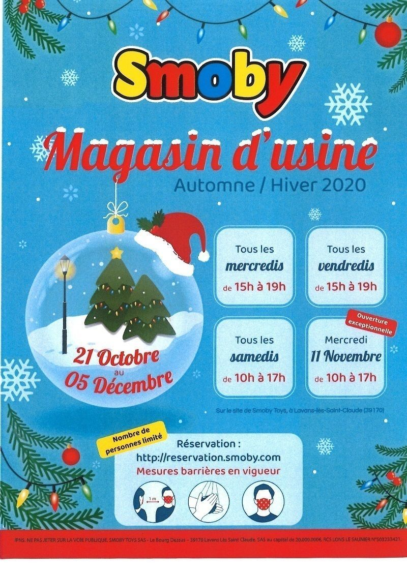 Magasin d'usine SMOBY